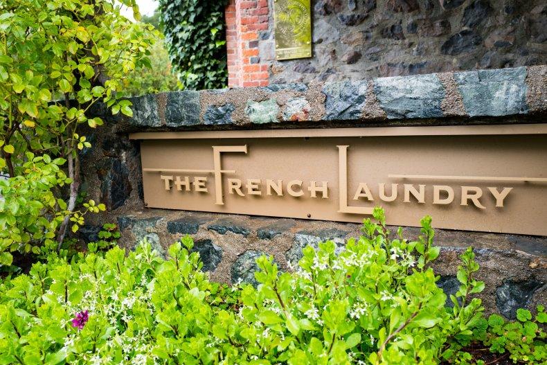 The French Laundry Gavin Newsom recall