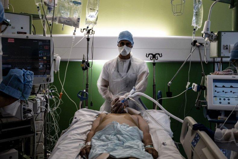 Coronavirus patient