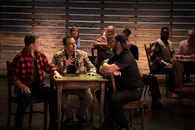 Come From Away scene