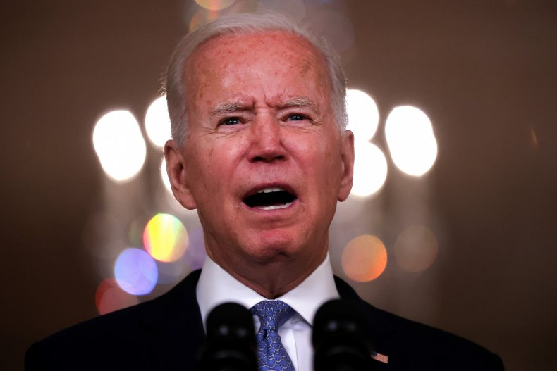 biden delivers speech from state dining room