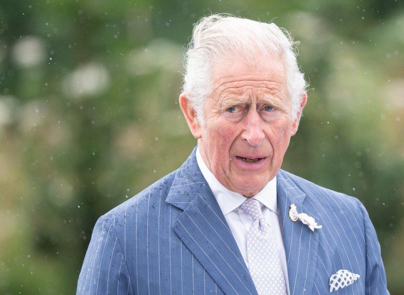 Prince Charles at Police Memorial