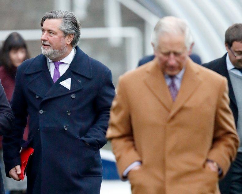 Michael Fawcett and Prince Charles