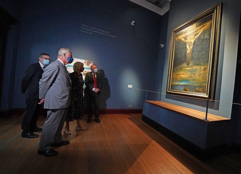 Prince Charles at Art Gallery