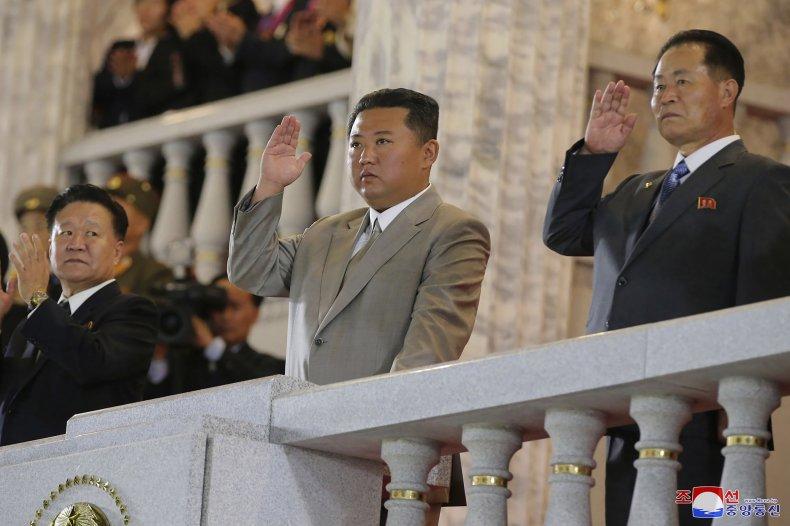 Kim Jon Un Parade