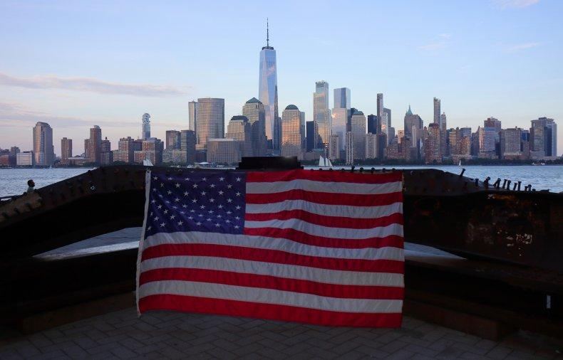 9/11 Flag Display Found Vandalized in Boston