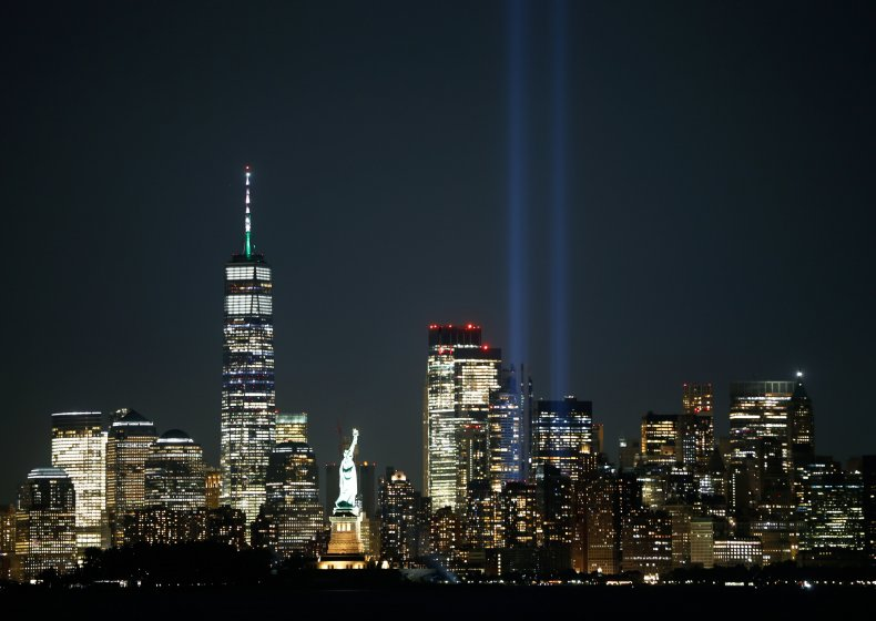 The annual Tribute in Light