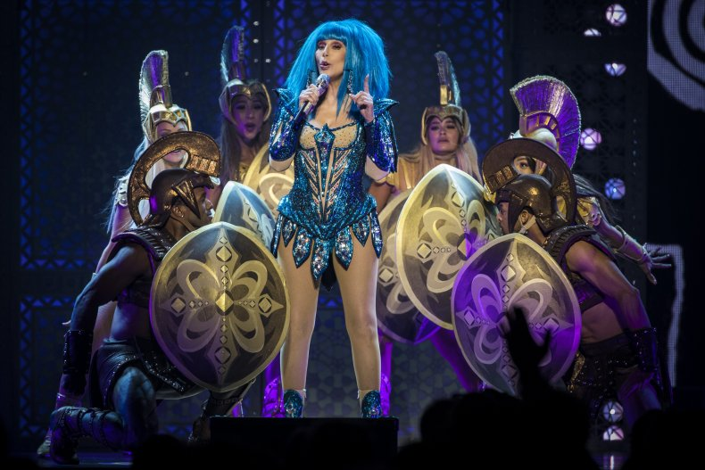 Cher at Friends Arena in Stockholm