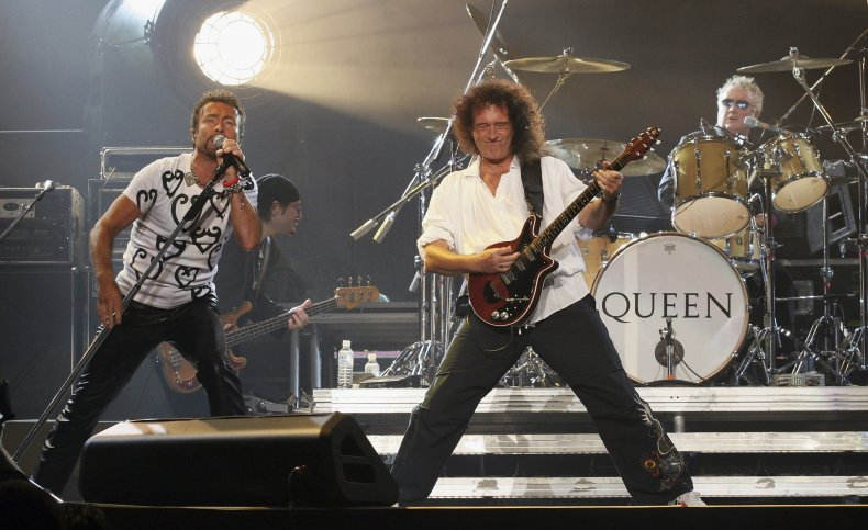 Queen perform at Saitama Super Arena