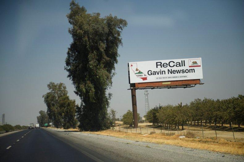 Gavin Newsom recall replacement