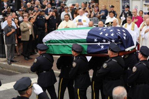 9/11 responder funeral