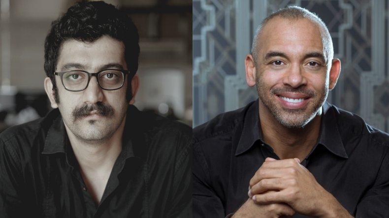 Mehdi Rajabian and Harvey Mason Iran musician