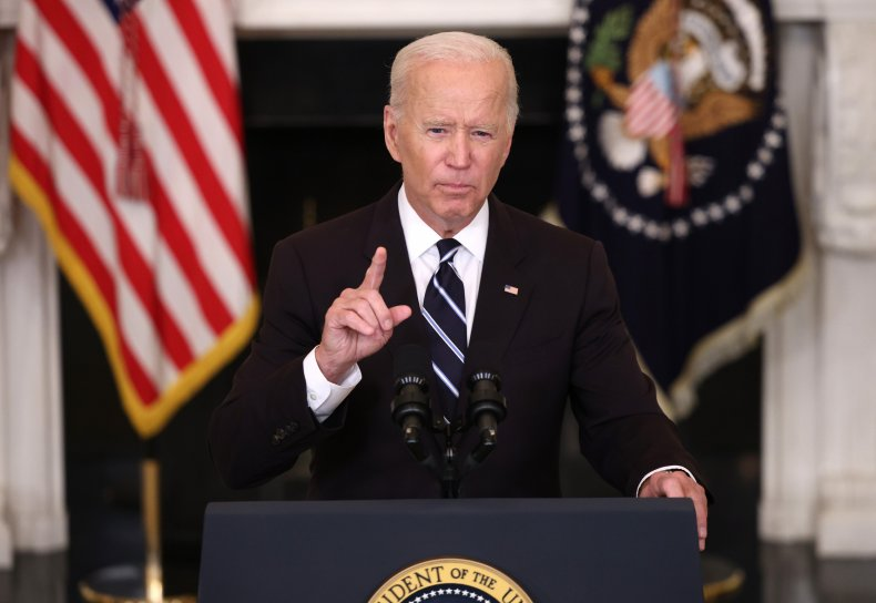 Joe Biden Discusses Combating COVID-19