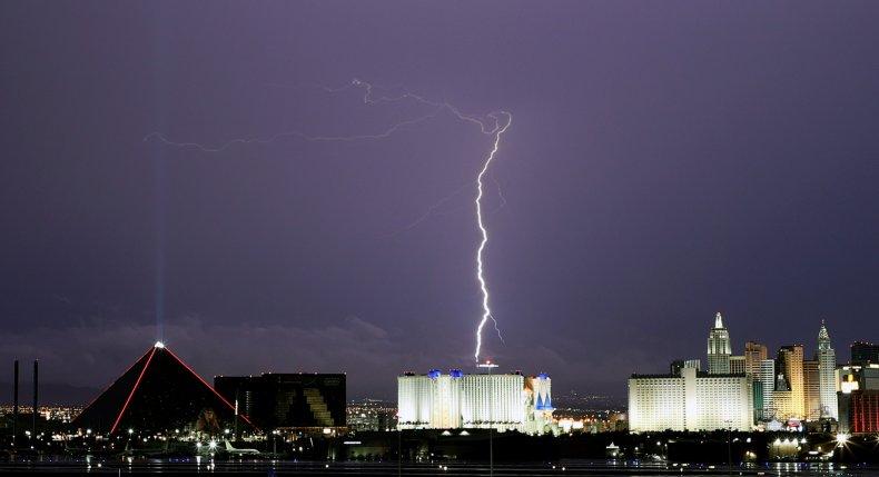 Lightning Sparks Fires in California