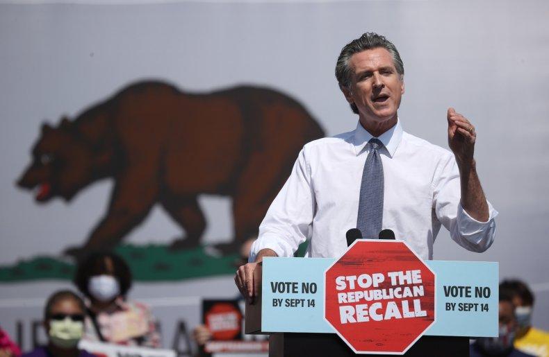 Recall Poll Shows Californians Still Oppose Effort