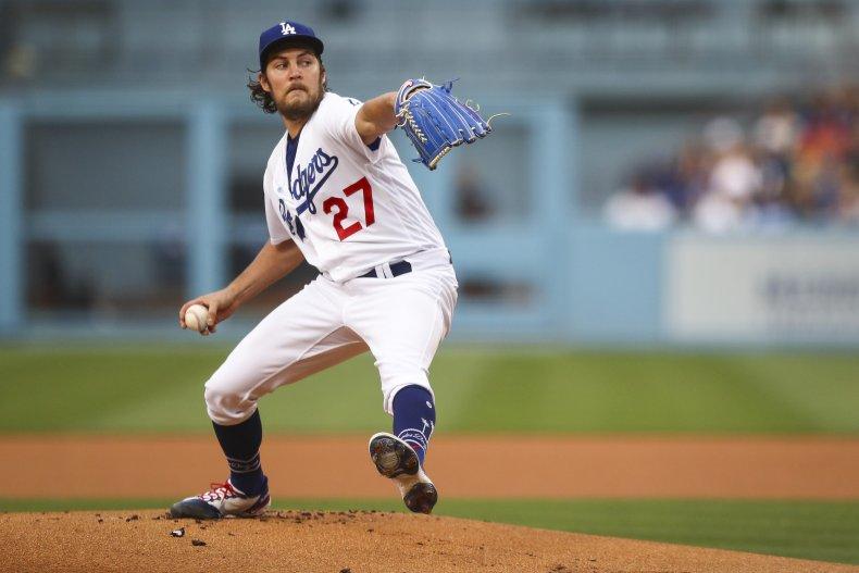 Trevor Bauer LA Dodgers