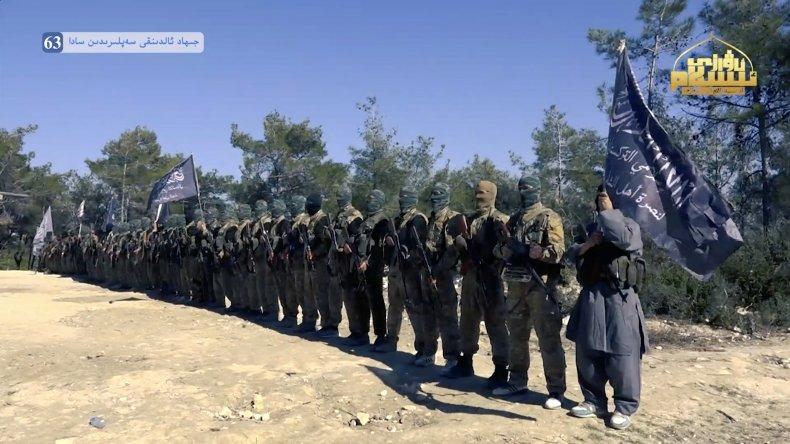 Turkestan, Islamic, Party, video, Syria