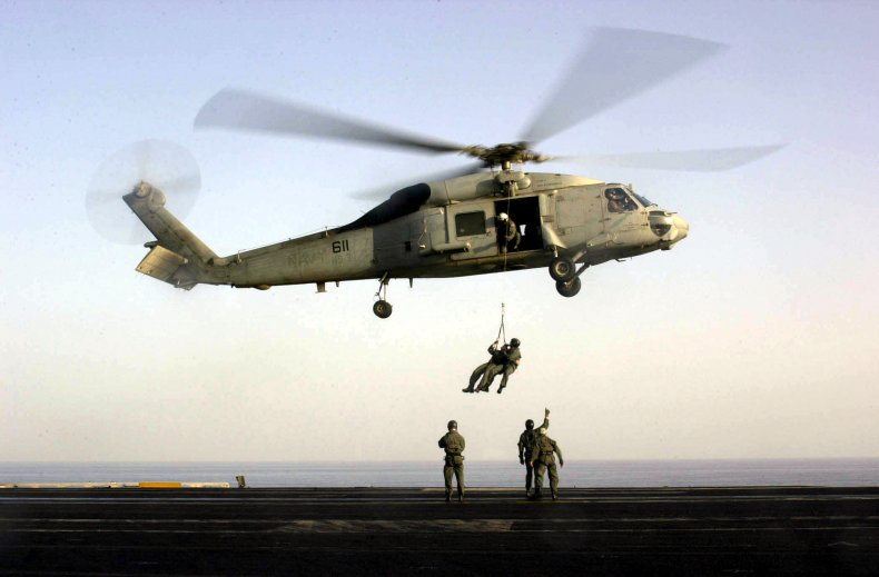 US Naval Operations Against Taliban Targets Continue