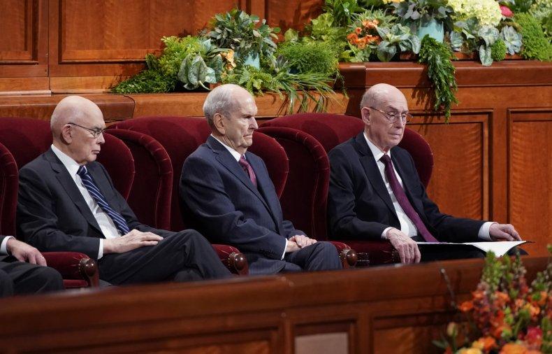 Worldwide Mormon Conference Convenes In Salt Lake