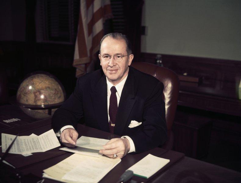 Agriculture Secretary Ezra Taft Benson