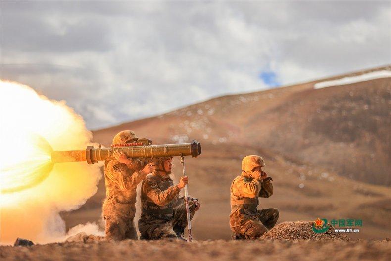 China, PLA, Xinjiang, Military, Region, training