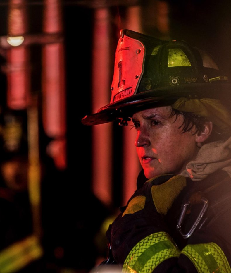 9/11 first responder firefighter Lieutenant Adrienne Walsh