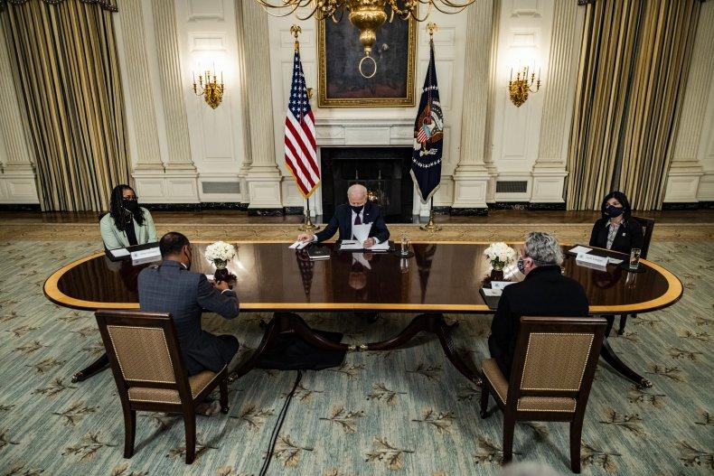 Stimulus checks petition Biden coronavirus inflation pandemic