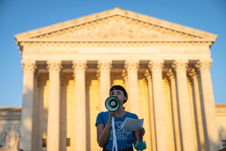 Supreme Court Abortion Protest
