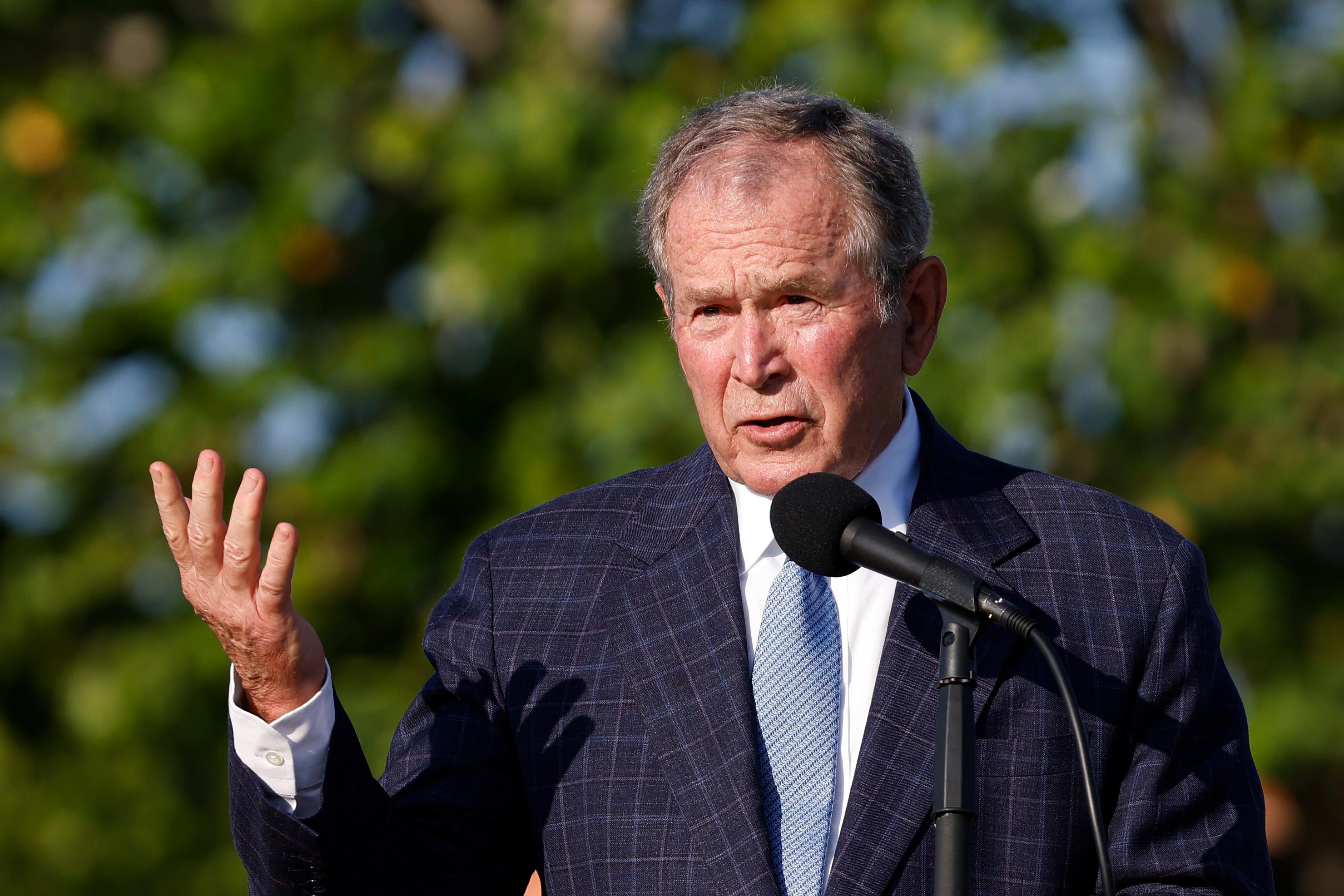 George Bush Delights Democrats, Infuriates MAGA World With Veiled Jan. 6, 9/11  Comparison