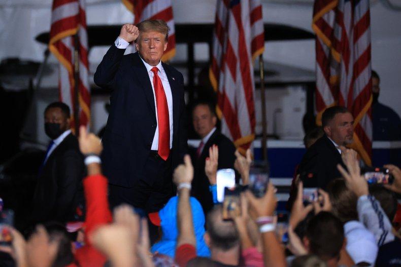 Donald Trump GOP voters 2020 election Republicans