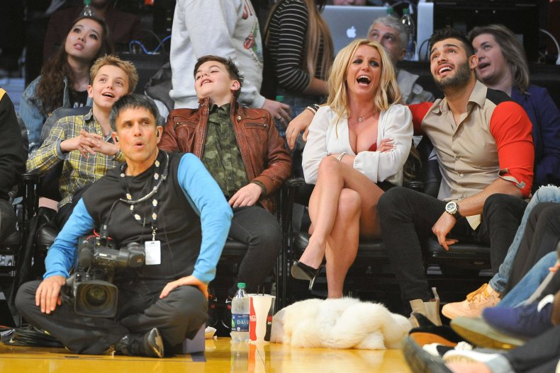 Britney Spears and her family