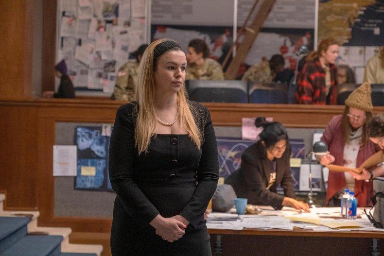 Amber Tamblyn in Y: The Last Man