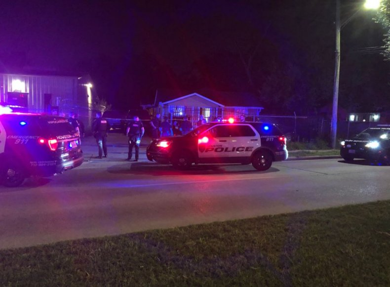 Houston officers responded to the shooting