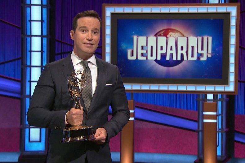"Former ""Jeopardy!"" host Mike Richards"