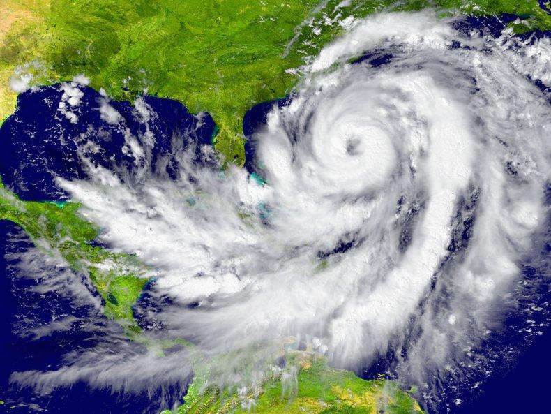 File photo of a hurricane.