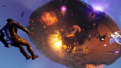 Operation Sky Fire Mothership Explosion