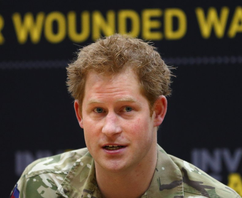 Prince Harry Launches Invictus Games