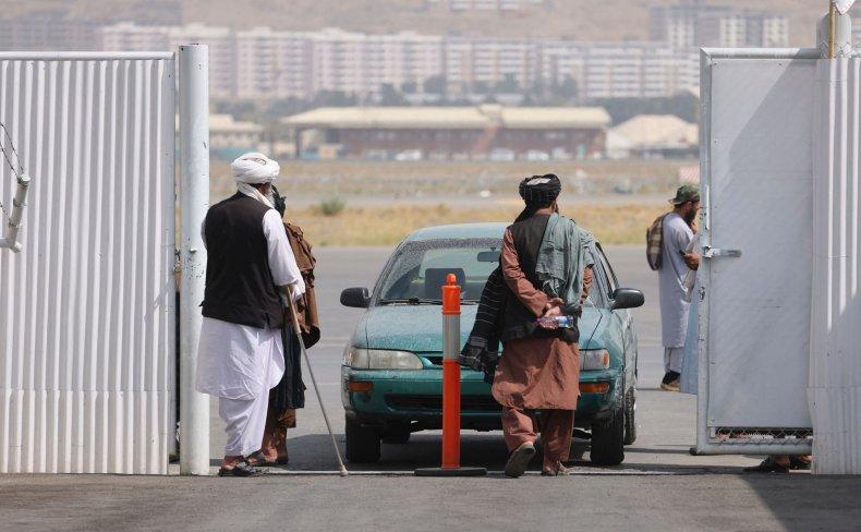 Taliban Guard Checkpoint