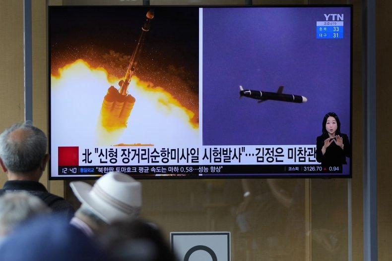 North Korea Missile Broadcast