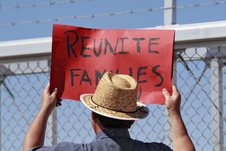 Border Separation Protestor
