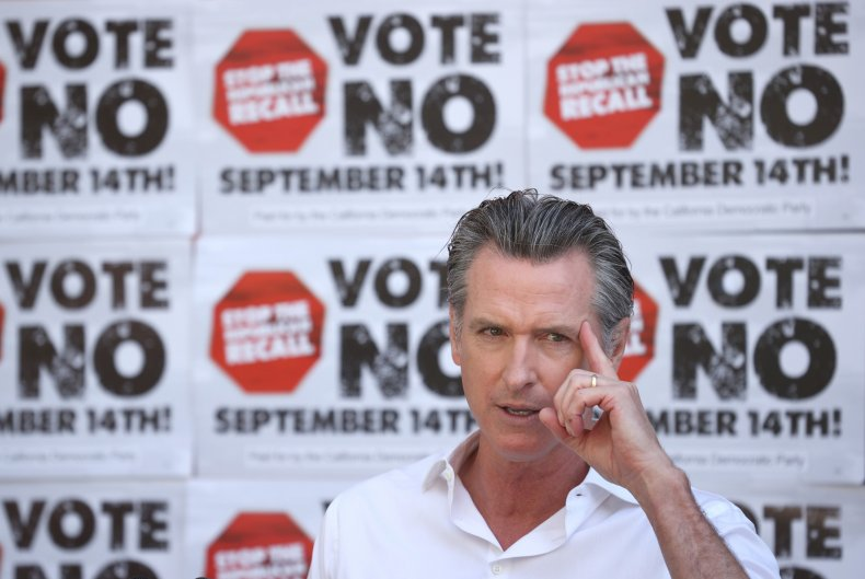 Poll: Most Californians Want to Keep Newsom