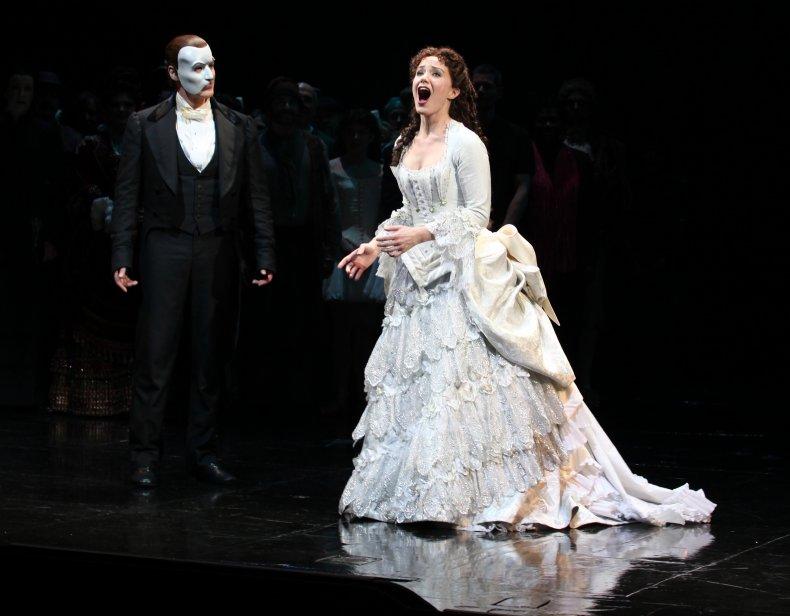 "The ""Phantom of the Opera"" in NYC."