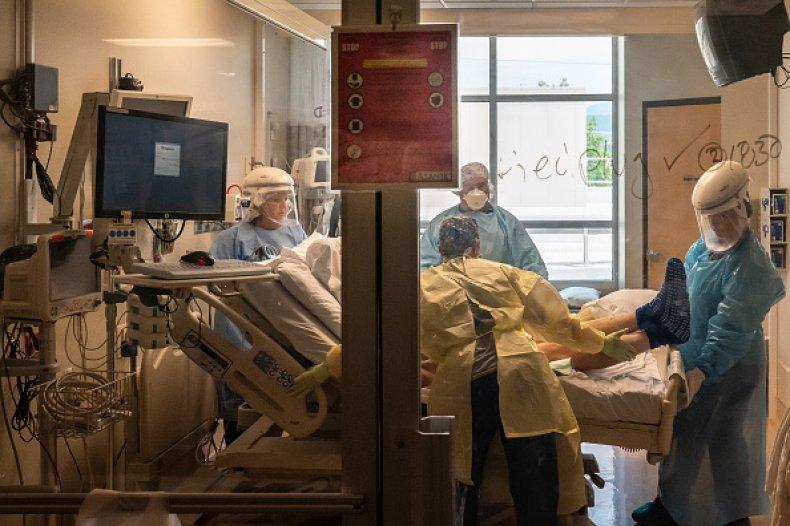 COVID Hospitalization Breakthrough Case Vaccinated Delta Variant