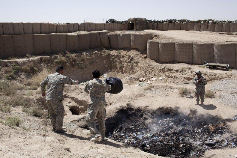 Afghanistan burn pit