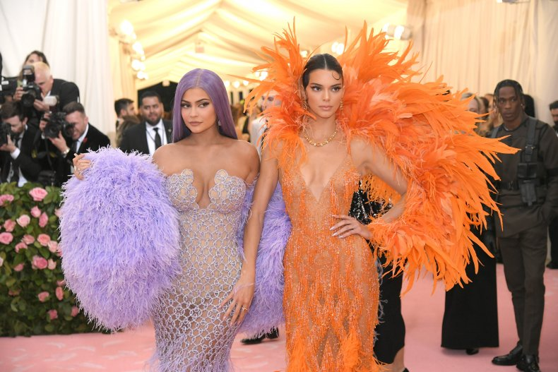 Kylie & Kendall Jenner at the MetGala