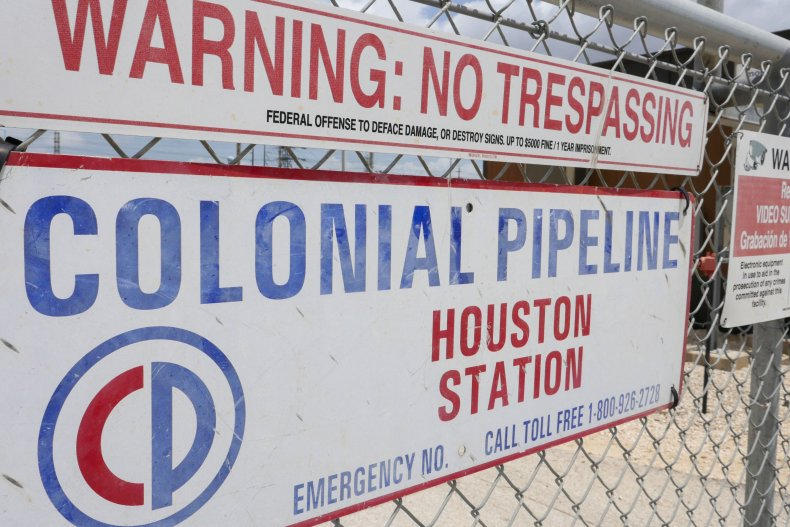 Colonial Pipeline Houston Station facility
