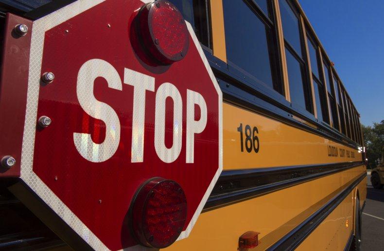 mother arrested school bus masks