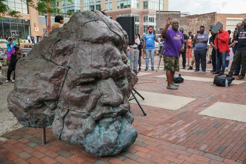 Frederick Douglass sculpture