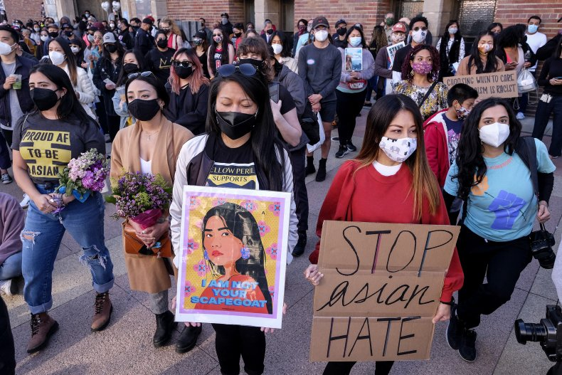 Stop Asian Hate Demonstration