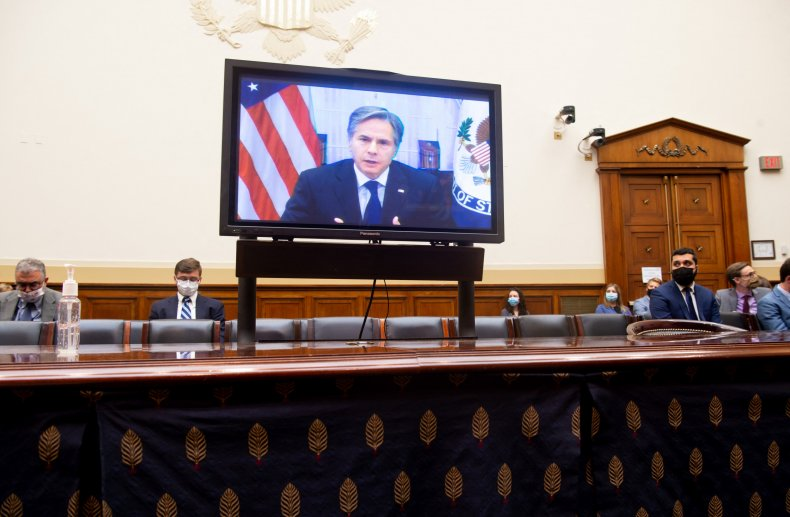 Blinken testifies on chaotic Afghanistan withdrawal