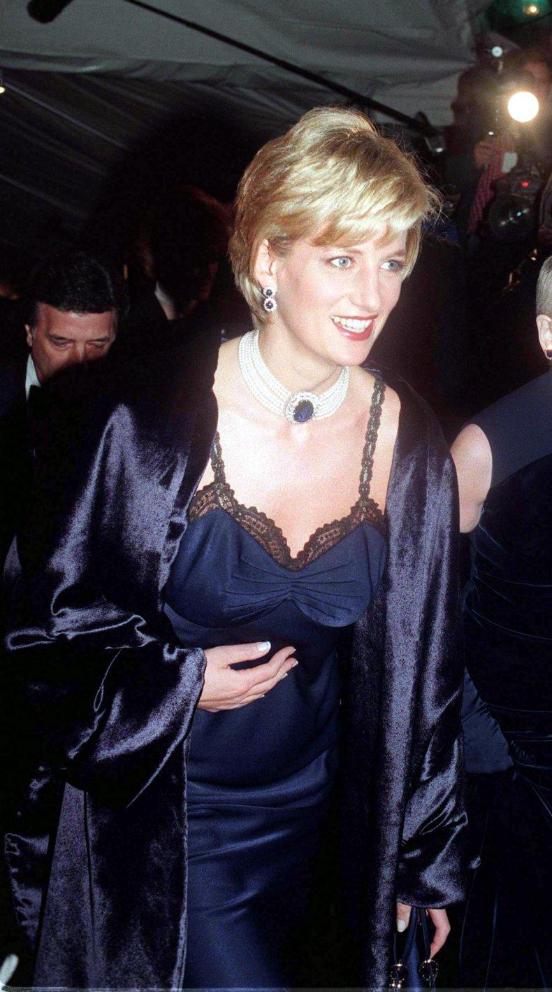 Princess Diana at the Met Gala